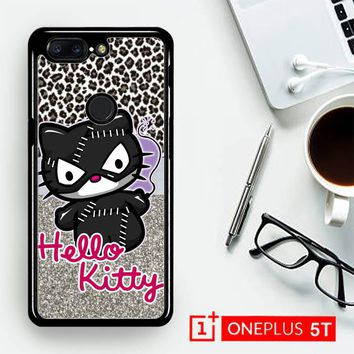 Hello Kitty Catwoman W3152  OnePLus 5T / One Plus 5T Case