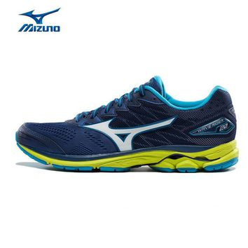 MIZUNO Men WAVE RIDER 20 Professional Jogging Running Shoes Breathable Sports Shoes Cu