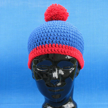 Cartman/STAN MARSH South Park Beanie hat by ChellesCraftCorner