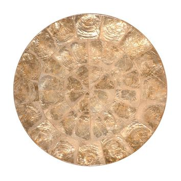 Capiz Placemat in Champagne - Set of 4