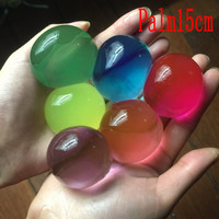 50pcs 25pcs Water Beads Pearl Shaped Soft Crystal Soil Ball Magic Ball Small Bolus Water Ball Toys For Children Kids Toy