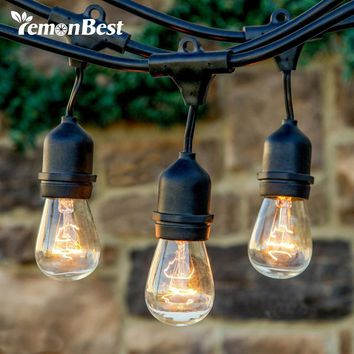 Waterproof String Light Pendant Lamp for Garden Porches