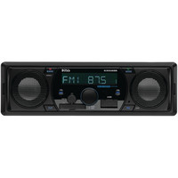 Boss Audio Single-din In-dash Mechless Am And Fm Receiver With Bluetooth & Built-in Speakers