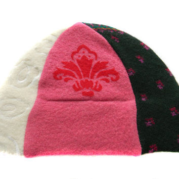Upcycled Beanie Hat #21