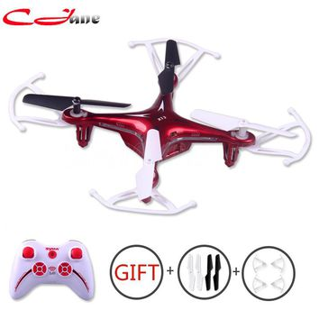 The Original X13 New Hot Drones RC Quadcopter 6 - axis 2.4 GHz 4 ch RC helicopter RTF controle remoto 3 d Flips Toy Vs x5c