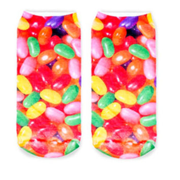 Foodie Ankle Socks- Jelly Beans