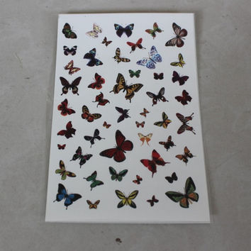 Butterfly Tattoo Sticker [6283901318]