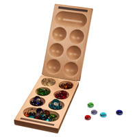 Folding Mancala Game, Maple, Indoor Games