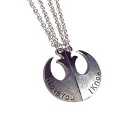 Alliance Insignia Friendship/ Lovers Necklace