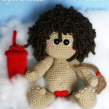Elfin Thread Cupid Amigurumi PDF Crochet Pattern (Doll Pattern)