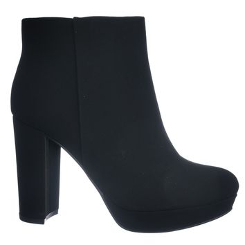 During Block High Heel Ankle Bootie - Women Platform Ankle Boots