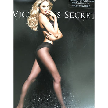 Victoria's Secret Nude Control Top Pantyhose