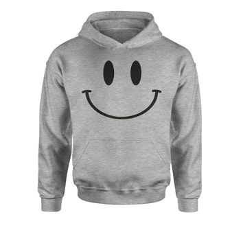 Emoticon Big Smiley Face Youth-Sized Hoodie