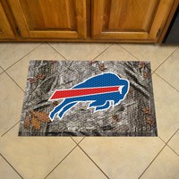 Buffalo Bills Scraper Mat 19x30 - Camo