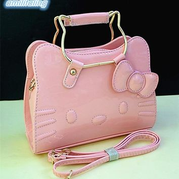 New Hello Kitty Women Shoulder bag  Hand bag Purse YEY-2266