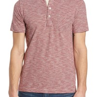 Billy Reid Stripe Jersey Polo | Nordstrom