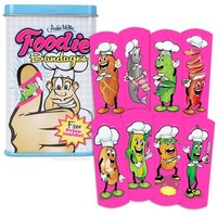 Feel Better Foodie Adhesive Band-Aids