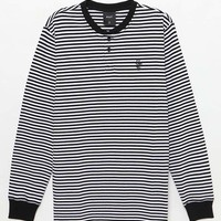 HUF Grayson Striped Long Sleeve Henley T-Shirt at PacSun.com