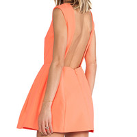 AQ/AQ Dime Mini Dress in Orange