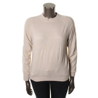 Mercer Street Womens Knit Long Sleeves Mock Sweater