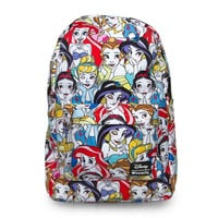 Disney Loungefly Princesses Backpack