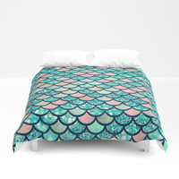 Mermaid Dream Duvet Cover by Printapix