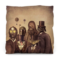 Victorian Wars 2 Throw Pillow