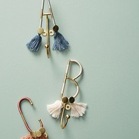 Fringed Monogram Hook