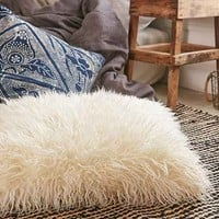 Mongolian Faux Fur Oversized Pillow