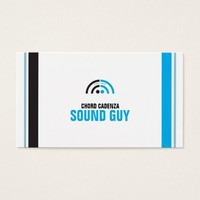 Sound Guy (2a) Business Card