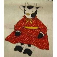 Buy Vintage Dolls Clarabelle Cow Fabric Panel at Webstore.com