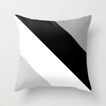 Tropical #4 Throw Pillow by Ornaart