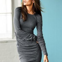 Ruched Cotton Sweaterdress - Victoria's Secret