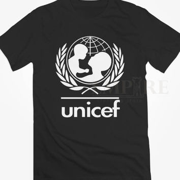Unicef World Society Unisex/Men Tshirt All Size