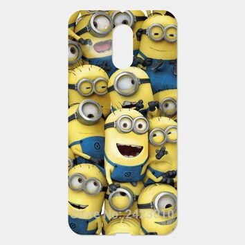 For Motorola Moto G4 G5 Plus G3 G2 G E2 E X X2 Z Play X Style G4 Play Despicable Me Minion pattern Phone Case