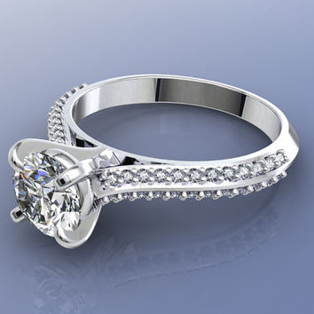 Engagment Ring 3D CAD Design Mold -JT21