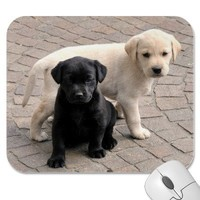 puppies mousepad from Zazzle.com