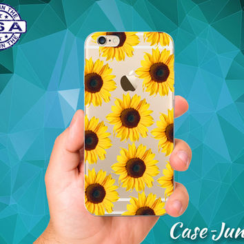 Sunflower Yellow Flower Pattern Cute Boho Tumblr Accessory Custo. IPhone  Cases 631bf2dcd