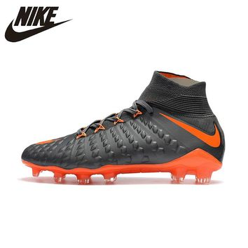 Nike Hypervenom Phantom III FG Outdoor Men  Soccer Shoes Football Boots Original AH7270-081 39-45