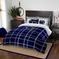 Penn State Nittany Lions NCAA Full Comforter Set (Soft & Cozy) (76 x 86)
