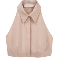 Cacharel Silk Crepe Collar.