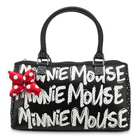 Disney Minnie Mouse Polka Dot Purse - Black | Disney Store