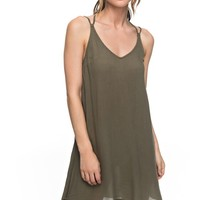 Dome Of Amalfi Strappy Dress ERJWD03148 | Roxy