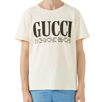 Gucci Big Vintage Logo T-Shirt