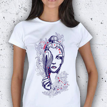 Feather Figure Women T-Shirt / Special Production (Limited Edition)