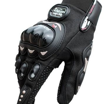 Free Shipping PRO motorcycle gloves summer breathable all fingers gloves bike riding gloves cross country gloves