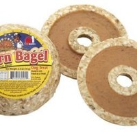 Redbarn Barn Bagel Peanut Butter Rawhide Dog Treat