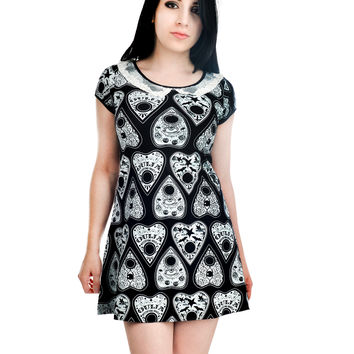 Rat Baby Goth Emo Lolita Dark Magic OUIJA PLANCHETTES Little Black Dress