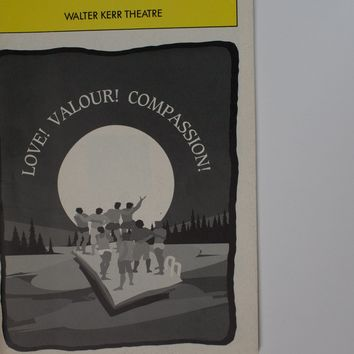 Love! Valour! Compassion! Playbill