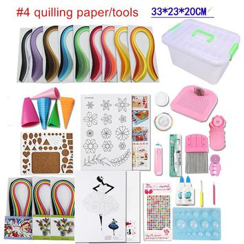 Full set starter  quilling paper, tool kit  clipper, border,tower,rolling,pen tweezers